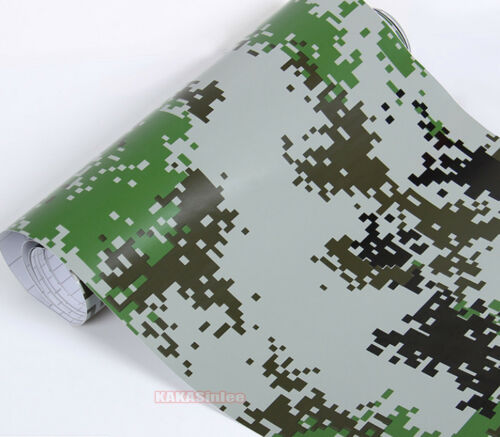 Bubbles Free DIY Car Digital Desert Forest Camouflage Camo Vinyl Wrap Sticker AB