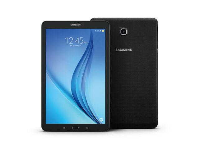 Samsung Galaxy Tab E 16GB, Wi-Fi + 4G (Sprint), 8in - Black FRB