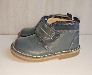 TU-Boys-Blue-boots-shoes-Size-Infant