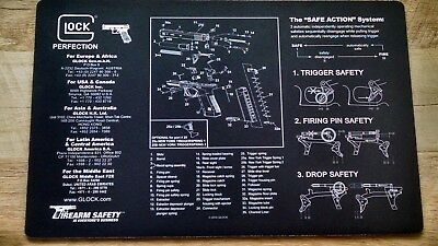 "Regular Tea Drinking Improves Your Health Contemplative Glock 17 Glock Safety Armorer's Bench 11"" By 17"" Mat nos"