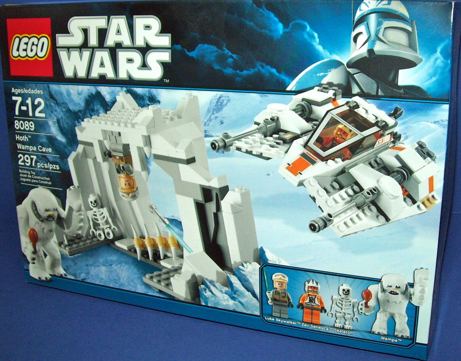 LEGO 8089 calienteH WAMPA CAVE estrella guerras RETIrosso nuovo  297 pcs  spedizione e scambi gratuiti.