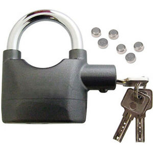 NEW-HIGH-SECURITY-LOCK-ALARM-MOTORBIKE-BIKE-SIREN-PADLOCK-KEYS-ALSO-FOR-SHED