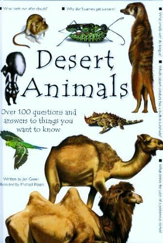 100 Questions and Answers: Desert Animals (100 Questions & Answers Series) By J