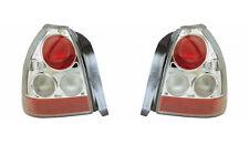 HONDA CIVIC EK EJ 1996-2000 LEXUS STYLE CLEAR REAR TAIL LIGHTS LAMPS PAIR Y0210