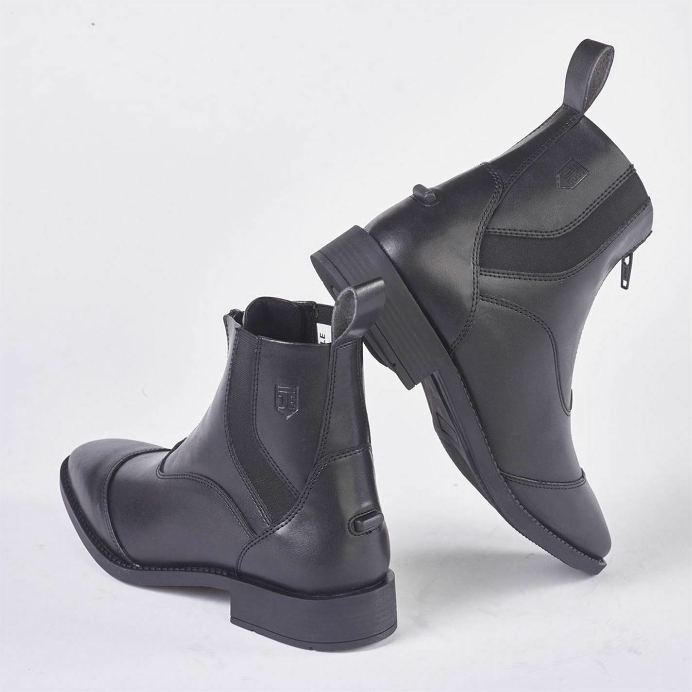 Just Togs Quantum Jodhpur Boots Ladies Zip Pull On