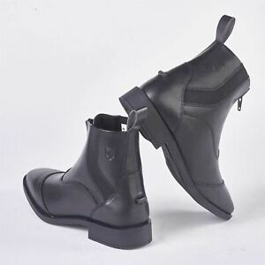 Jodhpur Pull Quantum Togs On Just Black Zip Bottes Femme Eqaz4z