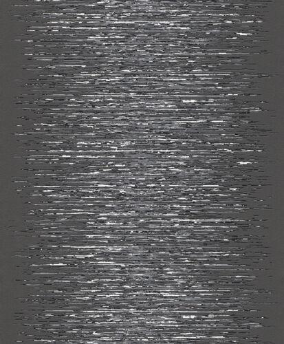 Vliestapete Rasch 413816 Deco Style Tapeten Schwarz Silber Metallic 2,25€//1qm