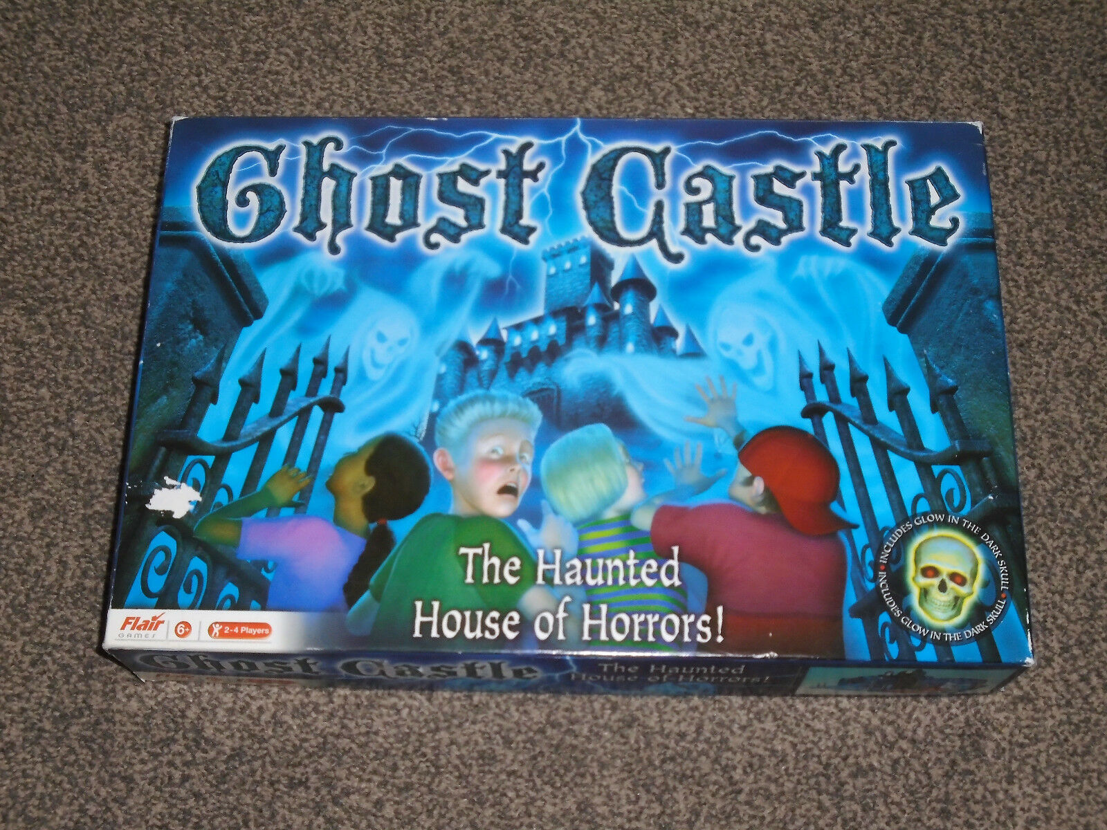 GHOST CASTLE   HAUNTED HOUSE OF HORRORS - RARE 2006 By FLAIR GAMES (FREE UK P&P)