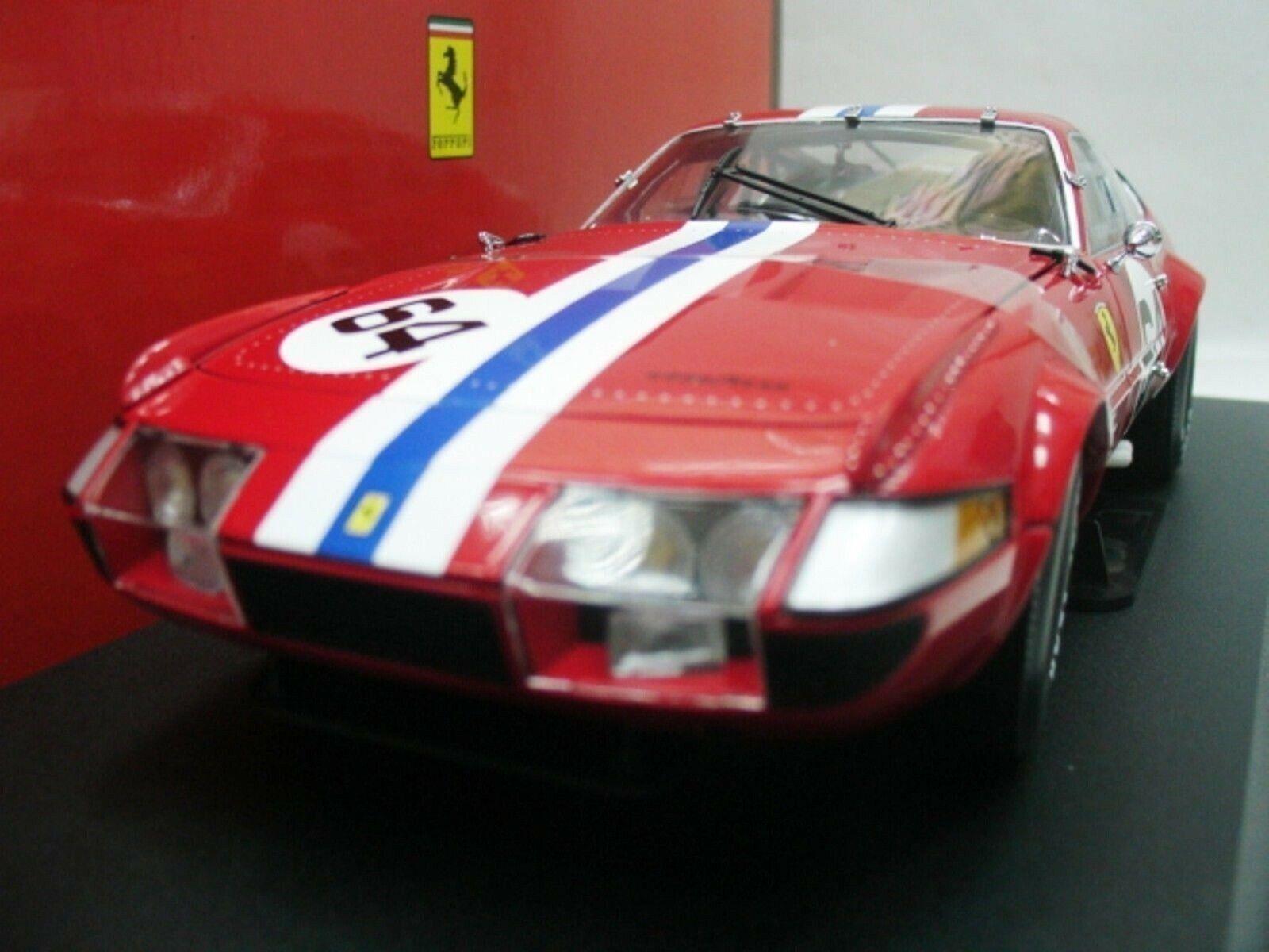 Wow extrêmement rare FERRARI 365 GTB 4 4 4  64 Newman 24 Daytona 1977 Entièrement neuf dans sa boîte 1 18 Kyosho b2d7d3