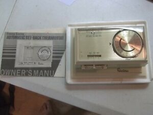 Robertshaw-Automatic-Set-Back-Thermostat-TH-300-501-Vintage-1973