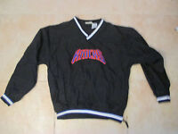 VINTAGE PUMA NEW YORK KNICKS SEWN BLACK PULL-OVER YOUTH/WOMEN'S XL PRE-OWNED