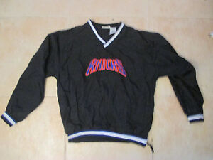 VINTAGE-PUMA-NEW-YORK-KNICKS-SEWN-BLACK-PULL-OVER-YOUTH-WOMENS-XL-PRE-OWNED