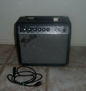 vintage fender frontman 15g electric guitar amplifier ebay. Black Bedroom Furniture Sets. Home Design Ideas