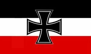 Deutschland Fahne Kreuz