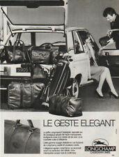 Publicité  1970  sac à main LONGCHAMP