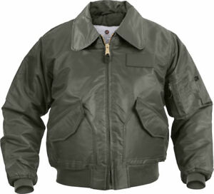 8ec28ffd60f Rothco Sage Green Tactical US Air Force CWU-45P Cold Weather Flight ...