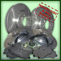 LAND ROVER DISCOVERY 3 2.7TdV6 - Brake Discs Pads and Sensor Set (DLS411S)