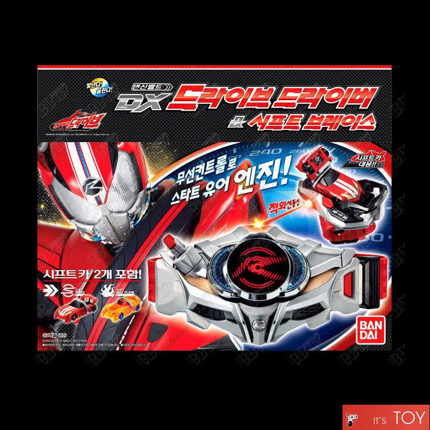 Bandai Kamen Rider Drive DX Drive Driver & Shift Brace Transformation Belt cars