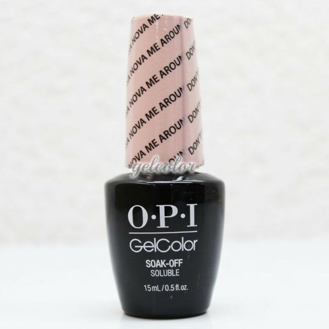 OPI GelColor Soak Off LED/UV Gel Nail Polish - Don't Bossa Nova Me Around #GCA60
