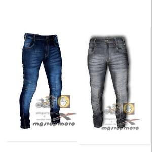 Jeans-moto-HERO-HR-786-elasticizzato-protezioni-CE-uomo-donna-pantaloni-K-ev-lar