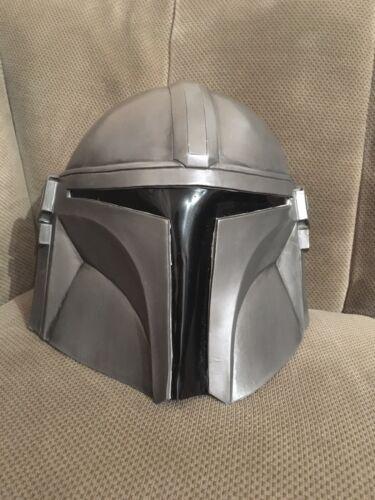 Mandelorian Mando Latex Helmet costume / Star Wars
