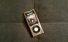 GRAY CLEAR Silicone Skin Case Cover 5th GEN 5G iPod Nano