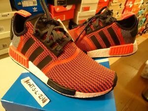 8a2f106381fe7 NEW Adidas NMD R1 Nomad Lush Red Black OG S79158 Ultra Boost SZ 10.5 ...