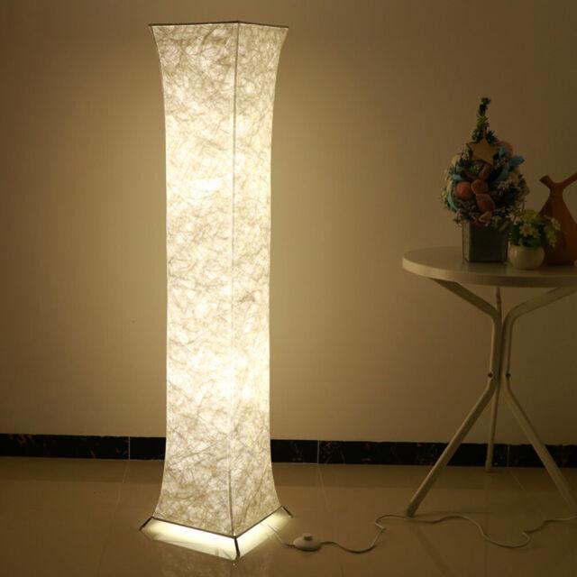 Modern Gold Silver Chrome Crystal Living Room Led Floor Lamp Bedroom Lights For Sale Online Ebay