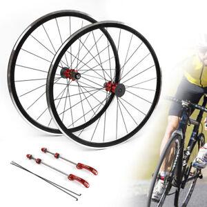 700C-Ultralight-Road-Bicycle-Wheel-Front-Rear-Wheel-Wheelset-Rim-Brake-C-V-PASAK