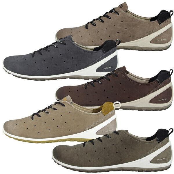 Ecco Biom Lite 1.2 Herren Schuhe Natural Motion Leder Turnschuhe Halbschuhe 802004