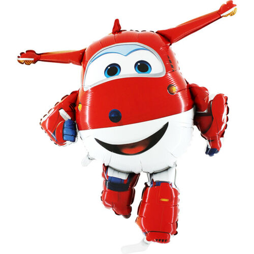 3 x Super Wings Jett Foil Balloon 38/'/' 97cm x 86cm L170