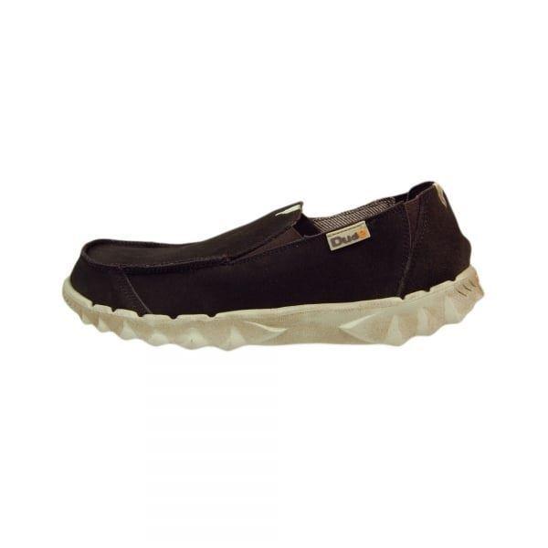 Dude Zapatos pedorro Chocolate Ante Pantuflas