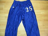 Russell Gripper Tear Away Pants Mens L Snap Athletic Basketball Blue