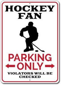 Race Fan Parking Only Novelty Gift Aluminum Metal Sign