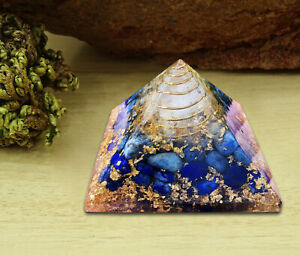 Extra-Large-Orgone-Pyramid-Lapis-Lazuli-Crystal-Energy-Generator-EMF-Protection