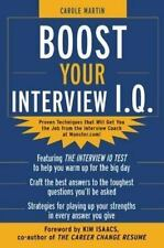 Boost Your Interview IQ, Carole Martin, Good Condition, Book