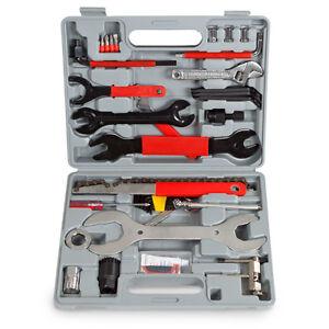 44tlg-Fahrrad-Werkzeug-Reparatur-Bike-Tool-Box-Set-Werkzeugtasche-Werkzeugkoffer
