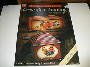Basic-Lessons-in-Decorative-Painting-for-Acrylics-by-Myer-Jones-art-book