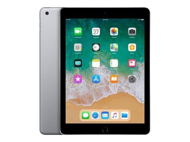 """Apple iPad 2018 Wi-Fi 9.7"""" 128GB Grå"""