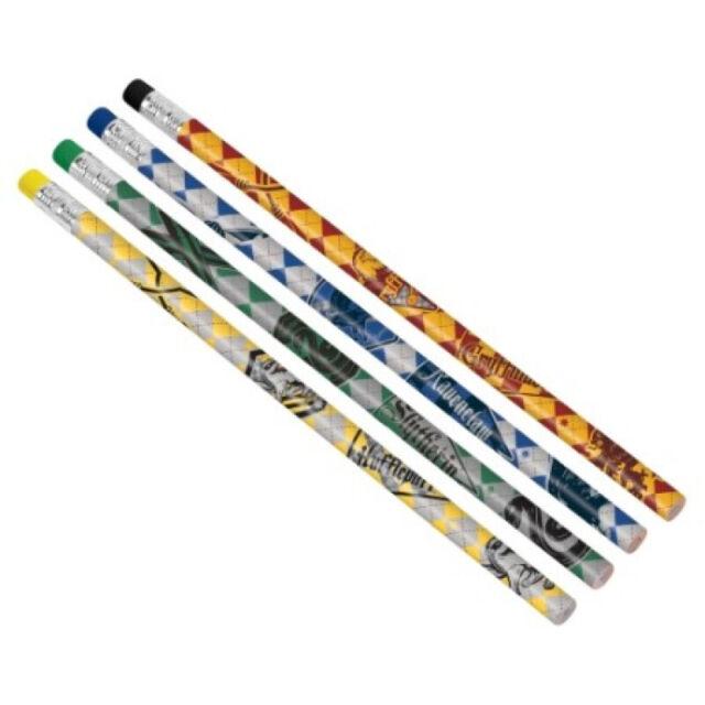 Party Supplies Birthday Wizard Hogwarts Gryffindor Harry Potter Favor Pencils