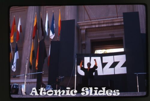1969 amateur Photo slide Berkeley CA Jazz Festival #6 music