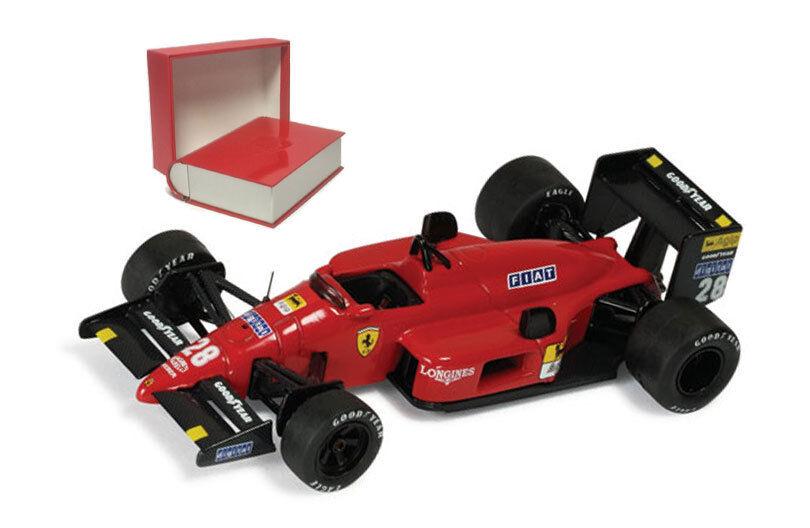 Ixo SF12 / 87 FERRARI F1 87   28 Giapponese GP 1987-Gerhard Berger scala 1/43