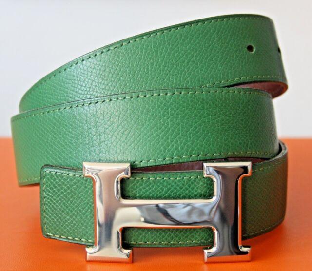 Hermès cinturón con maroador Hermes hebilla de tamaño: 75 - 100% productos originales