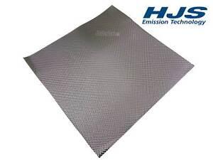 1x HJS 83000035 Hitzeblech 500 x 500 mm Schutzblech Abgasanlage Hitzeschutz