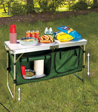 Openbox Camco 51097 Deluxe Camping Kitchen Table For Sale Online Ebay