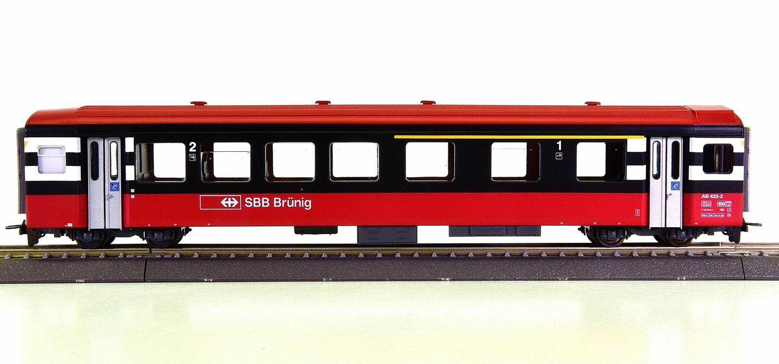 BEMO 3277 443 (h0m) - Vagoni 1. 2.kl. il SBB, Brünig PANORAMIC Express