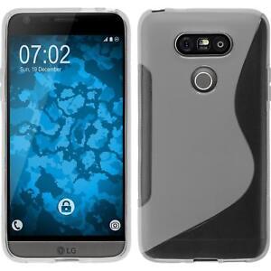 Custodia-LG-G5-S-Style-trasparente-Cover-G5-in-silicone-Case