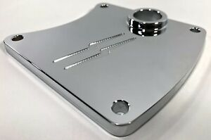 RON-SIMMS-CHROME-BILLET-PRIMARY-CHAIN-INSPECTION-COVER-DOOR-FXR-FXRT-FXRP-MIDS