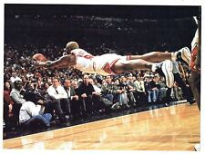 Photographie Forencich - Plongeon de Dennis Rodman Chicago Bulls Golden Warriors