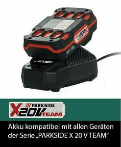 Parkside-Akku-20-V-Ladegeraet-Kompatibel-mit-Alle-Geraete-der-Serie-X-20V-Neu-OVP